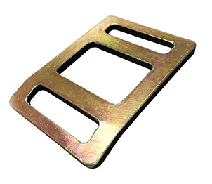 Flat Stamped Metal Buckles - Stream Peak Singapore