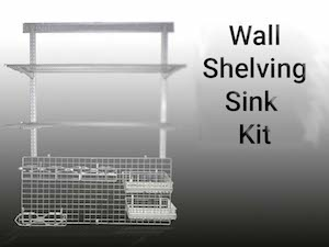 Wall Shelving Sink Kit - Stream Peak Singapore
